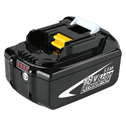 Dosctt BL1860B 5.5Ah Reemplazo para Makita 18V Batería BL1860 BL1850 BL1850B BL1830 BL1830B BL1840 BL1815 BL1825 BL1835 BL1845 LXT400 con...