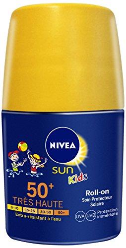 Nivea Sun Kids Roll-on Soin Protecteur Solaire Fps50+ 50 ml