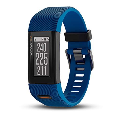 Pulsera Reloj Garmin Extragrande Approach X10 GPS Golf, Pantalla de 1, 0.03, Color Perno Azul