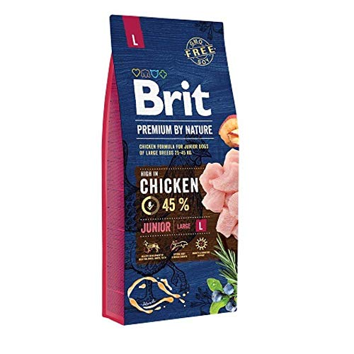 Brit Premium Junior L 15kg, 1-pack (1 x 15 kg)