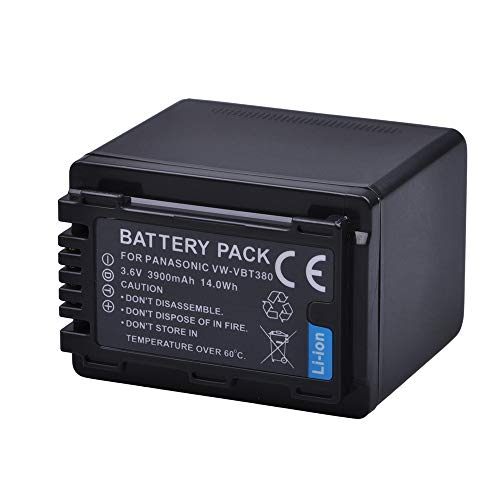 Battery Pack for Panasonic HC-V550 HC-V550K HC-V550CT HC-V550CTEB HC-V550M HC-V550MK HD Video Camera Camcorder