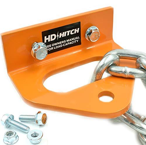 HD Switch Bolt on Tow Hitch Replaces Bad Boy 093-1000-00 MZ, MZ Magnum, ZT, CZT, & Maverick - Extreme Heavy Duty - Versatile Chain Slot