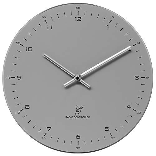 Krippl-Watches Funkwanduhr mit Analoganzeige