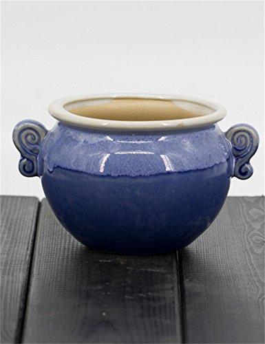 XYZ Semplici ceramica creativa piante grasse Vasi, Mini fioriera, piantatore di fiori delicato durevole ( stile : C. )
