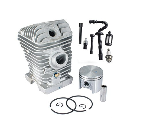 ouyfilters New 42.5 mm Cylinder Piston Bearing with Fuel de Tune Up Kit filtro Fuel Oil filtro Fuel Line For Stihl 023 025 MS230 MS250 Chainsaw