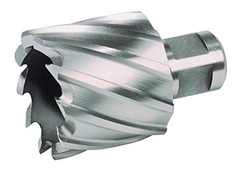 Ruko 108238 - Broca hueca HSS, vástago Weldon, profundidad 30 mm (38 mm)