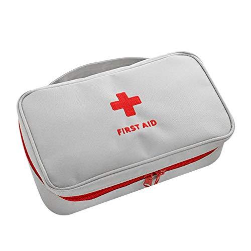 gfjfghfjfh Borsa per Kit di Pronto Soccorso all\'aperto Kit Medico di Emergenza Borsa per Sopravvivenza Borsa da Viaggio Medicina Borsa da Viaggio Organizer Piccolo con Manico