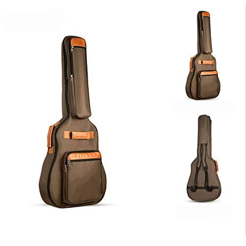 Zhengowen Bolsa de Guitarra Bolsa de Guitarra Acolchada Impermeable Hombro de Guitarra...