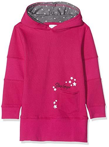Schiesser Mädchen Sweatkleid Sweatshirt, Rot (Pink 504), 92 (Herstellergröße: 092)