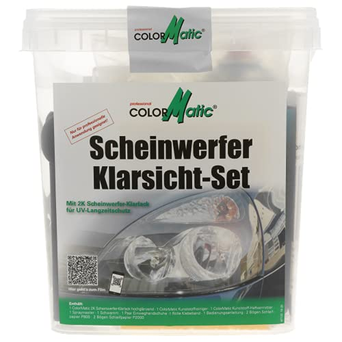 COLORMATIC Colormatic 359248 Klarsicht-Set Bild