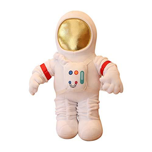 Maikouhai Astronaut Soft Toy, Astronaut Plush Toy, Super Soft Pillow Cushion Toys, Kawaii Plush Cartoon Stuffed Education & Imagination Toy Cuddle Toy Space Toy 12.99 inch (White)