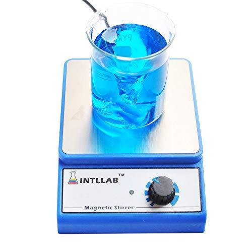 INTLLAB Magnetic Stir Plate with Stir Bar - 3000 rpm - 3000 ml Max Stirring Capacity