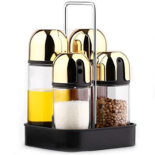 NOBRAND TYC Sin Plomo de Cristal pequeña Cocina Aceite Pot, Aderezo de...