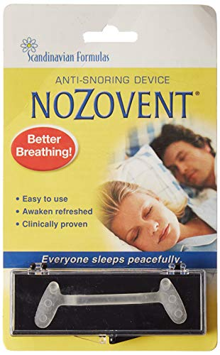 Scandinavian Formulas Nozovent Anti-Snore - 1 Pack