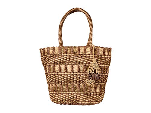 Lucky Brand Ordo Tote Brown/Natural One Size