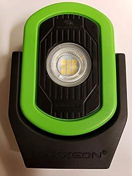 Maxxeon MXN00811 HiVis Green 720 Lumens USB-C Rechargeable LED Cyclops Workstar Work Light