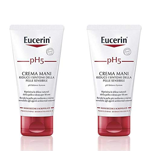 Eucerin pH5 - Crema Mani Pelle Sensibile, 2x75ml