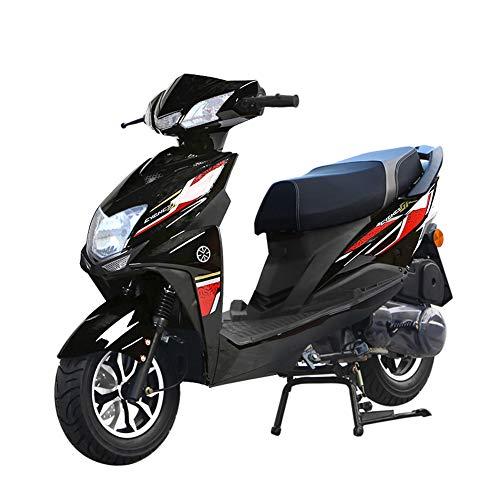 Wheel-hy Scooter ciclomotor de 125cc Scooter de Motocicleta Scooter ciclomotor de Gas, Scooter Legal de Calle Totalmente automático, Velocidad 80 km/h