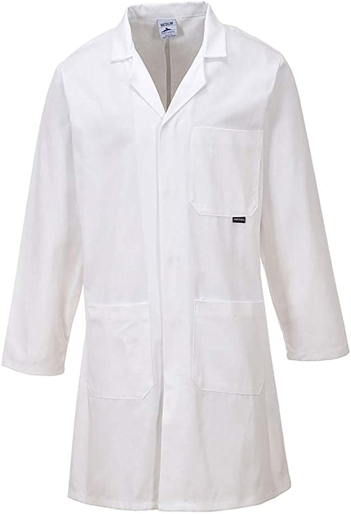 Portwest Workwear Mens Cotton Coat
