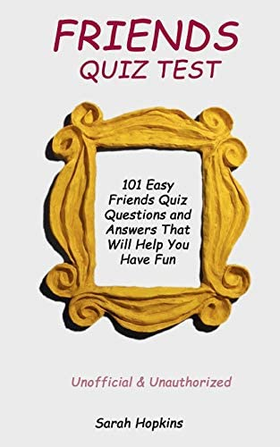 Friends questions for test Friendship Test