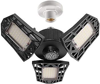 2-Pack 60W LED Garage Lighting