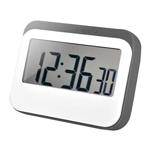 Jayron Temporizador digital Reloj Despertador Temporizador de Cocina Temporizador de Cocina Pantalla LED Grande Diseño Magnético Batería Reemplazable para Niños y Ancianos