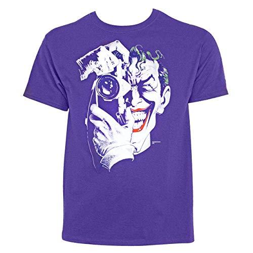 Graphitti Camiseta masculina Killing Joke II por Brian Bolland, Roxa, L