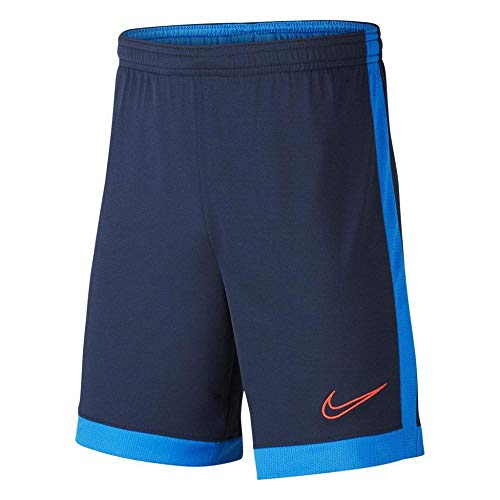 Nike B Nk Dry Acdmy Short K, Bambini, Obsidian/Sofi/Laser Crimson, XS