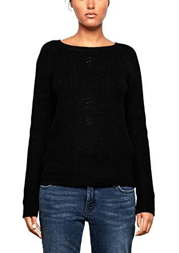 Q/S designed by - s.Oliver Damen 41.809.61.2511 Pullover, Schwarz (Black 9999), XX-Large