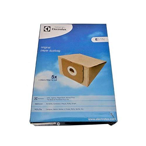 Caja de 4 bolsas de polvo + 1 filtro (51857-33462) para aspirador 9002565449 Tornado