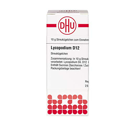 DHU Lycopodium D12 Streukügelchen, 10 g Globuli