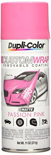 Dupli-Color ECWRC8047 Custom Wrap Matte Passion Pink