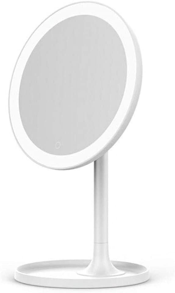 Inventory cleanup selling sale BHQF LED Light Regular discount Vanity Makeup Adjustabl Color ,Three Mirror