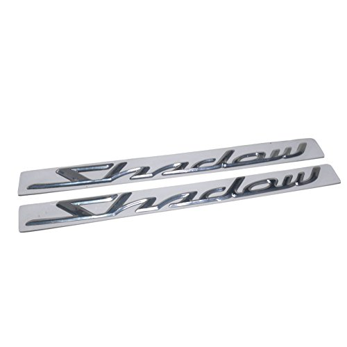 2 adhesivos 3D para emblema de motocicleta para Honda Shadow 1100 VT1100C VT500C 750