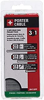 PORTER-CABLE Brad Nails, Project Pack, 18GA, 5/8-Inch, 1-1/4-Inch, 2-Inch, 900-Pack (BN18PP)