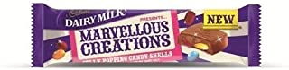 Cadbury Dairy Milk Marvellous Creations Jelly Popping Candy Shells 6x47g by Cadbury