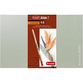 Bruynzeel 10011930 Color 45Ct Pencil Tin