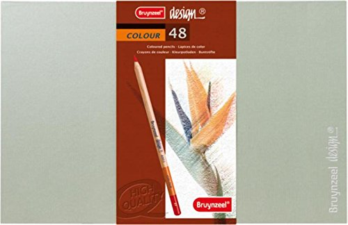 Bruynzeel Design Coloured Box Of 48 Pencil Set