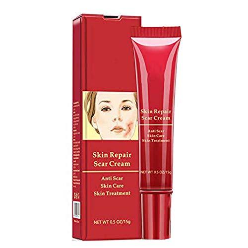 Crema cicatrice - Crema rigenerante, rafforza e ricostruisce il collagene e l'elastina nella pelle, è ottimo per riparare la pelle.