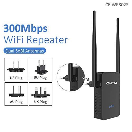 CF-WR302S WiFi Router Repeater 300M de 10dBi Antena Wi fi de la señal del repetidor 802.11N / B/G Roteador Wi-Fi Extensor de Alcance