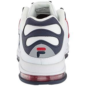 Fila Men's Silva Trainer Running Shoes White Navy Red 10