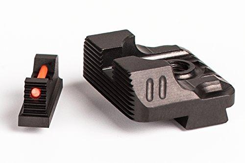 Zev ZT-SIGHT-215-FO-COM3-B Sight Set .215 for Front Combat Rear Gun Stock Accessories
