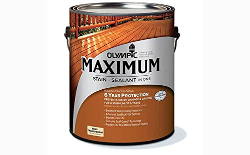 オリンピックマキシマム 塗料 木部 木材保護塗料 セミトランスパーレント 半透明タイプ No5.ブルーリッジグレー