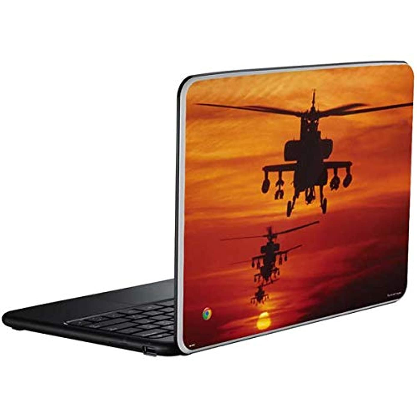 Skinit Four AH-64 Apache Helicopters Chromebook Skin - Officially Licensed StockTrek Galaxy Art Laptop Decal - Ultra Thin, Lightweight Vinyl Decal Protection