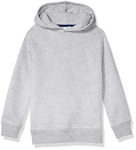Amazon Essentials Pullover Hoodie Sweatshirt Fashion, Heather Gray, Medium