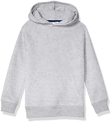 Amazon Essentials Pullover Sweatshirt fashion-hoodies, Grau meliert, Small