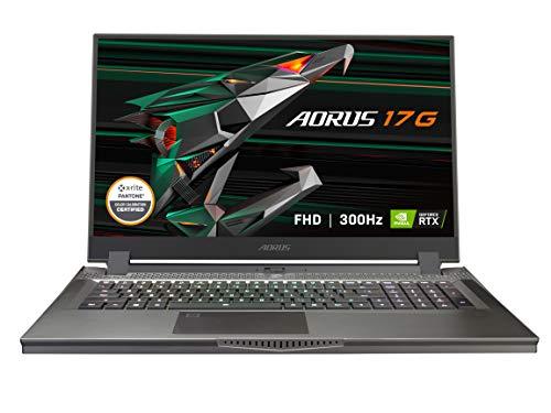 GIGABYTE AORUS 17G – 17.3″ 300 Hz – Intel Core i7-10870H – NVIDIA GeForce RTX 3070 Laptop GPU 8 GB GDDR6 – 32 GB Memory – 512 GB PCIe SSD – Windows 10 Home – Gaming Laptop (AORUS 17G XC-8US6430SH)