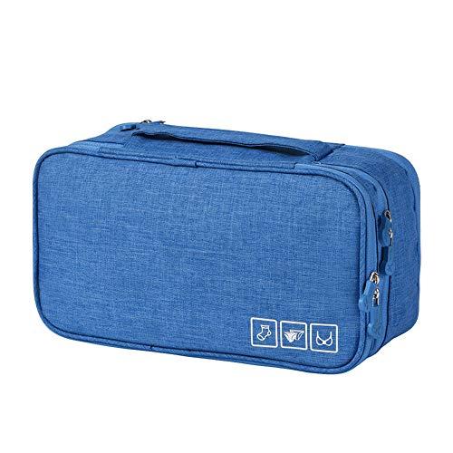 Hihey tragbare Unterwäsche Aufbewahrungstasche – Wasserdichtes Nylon Reisetasche Sockentasche Kulturbeutel