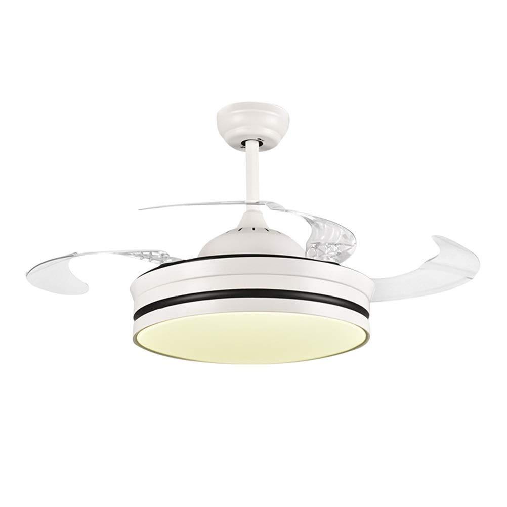 Ventiladores de techo LED con lámpara Interruptor silencioso de ...