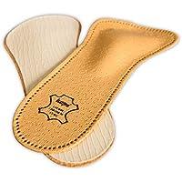 Kaps Plantillas Zapatos Ortopédicas de Cuero de 3/4 para Mujeres, Reducen las Molestias y Previenen el Dolor en el Antepié Con Soporte Para el Arco Metatarsiano (37 EUR)
